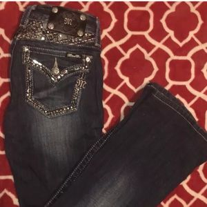 MissMe•Signature boot jeans•Size 25
